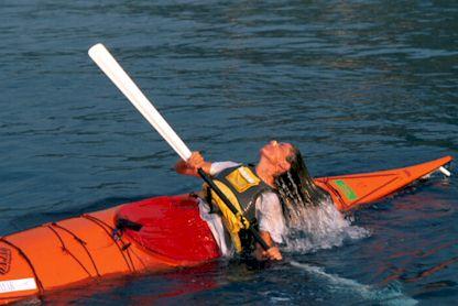 Elba in Kayak